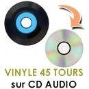 DVD Center copie sur CD ou DVD toutes vos musiques : K7 video, cassettes Audio, disque vinyle, Super 8.